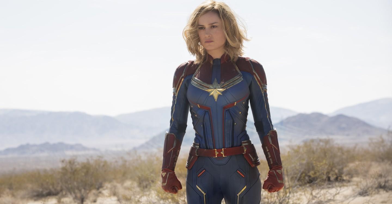 Captain Marvel backdrop 1
