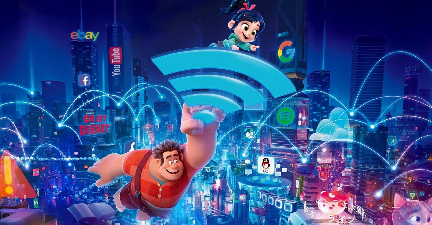 Ralph Breaks the Internet backdrop 1