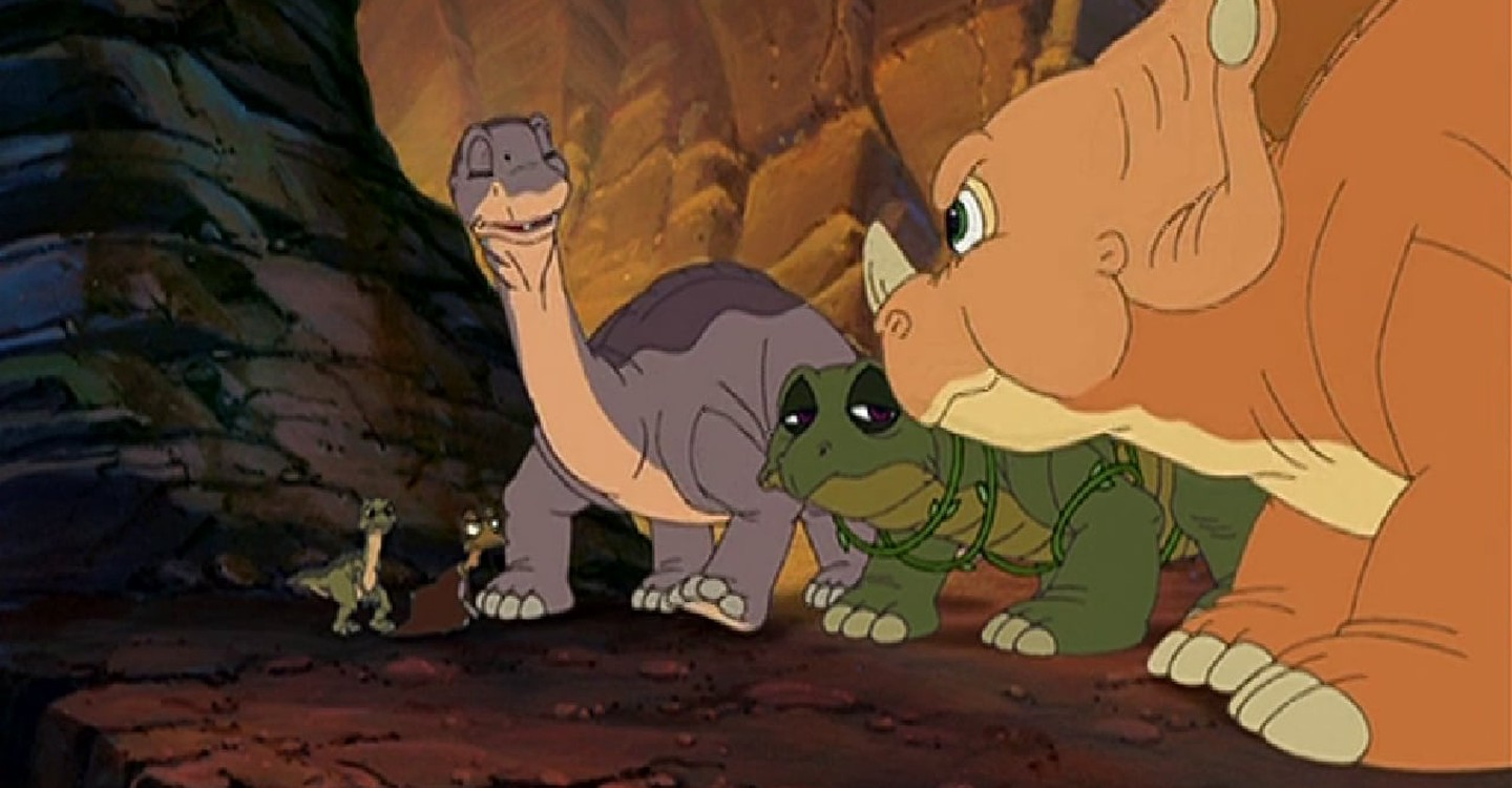 The Land Before Time VII: The Stone of Cold Fire backdrop 1