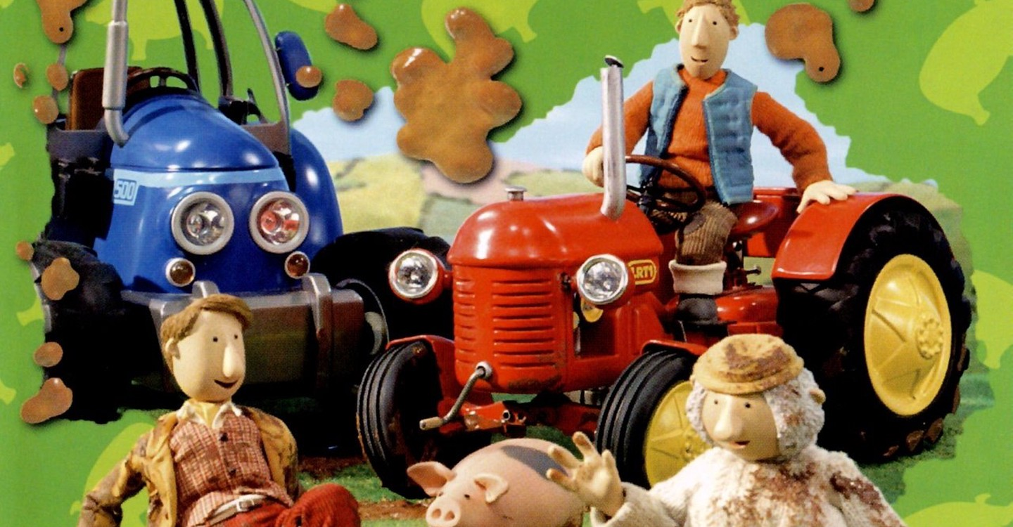 Little Red Tractor backdrop 1
