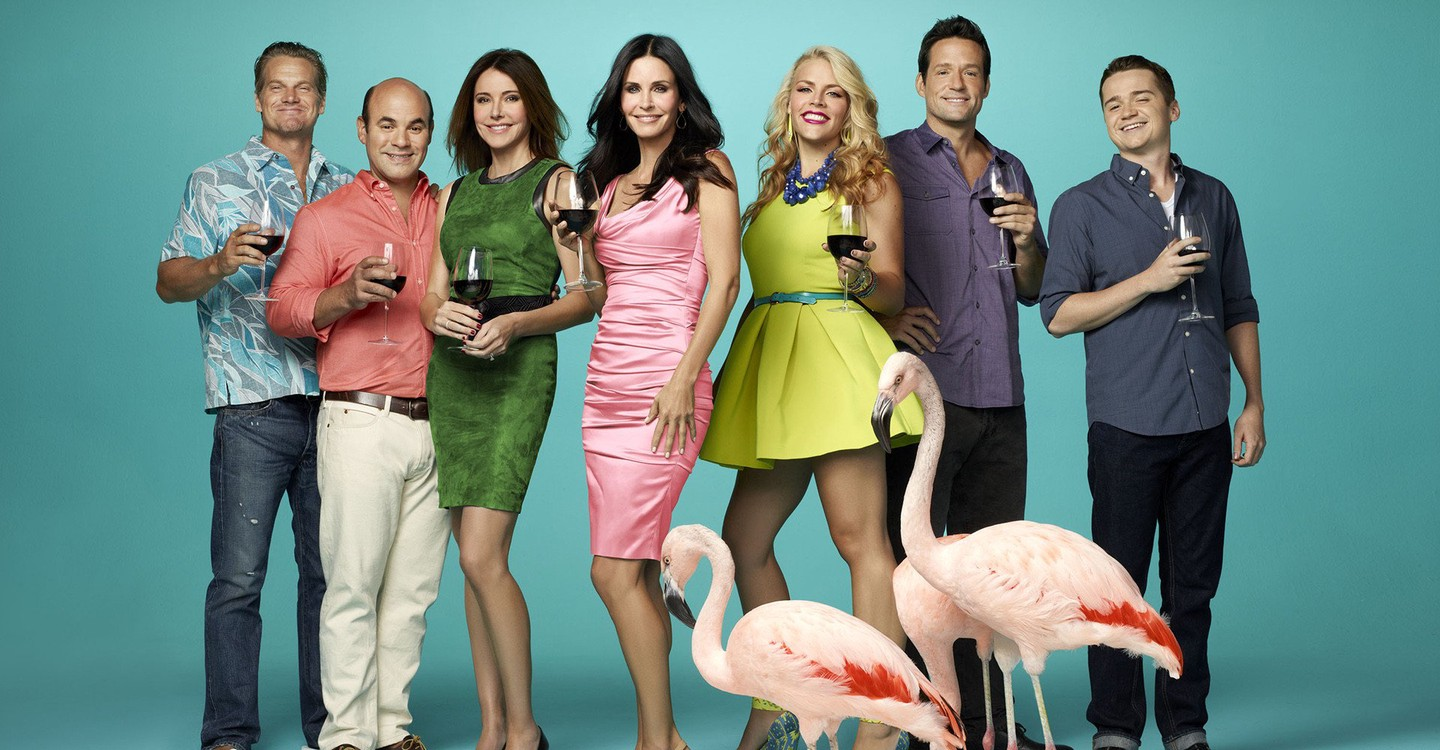 Cougar Town backdrop 1