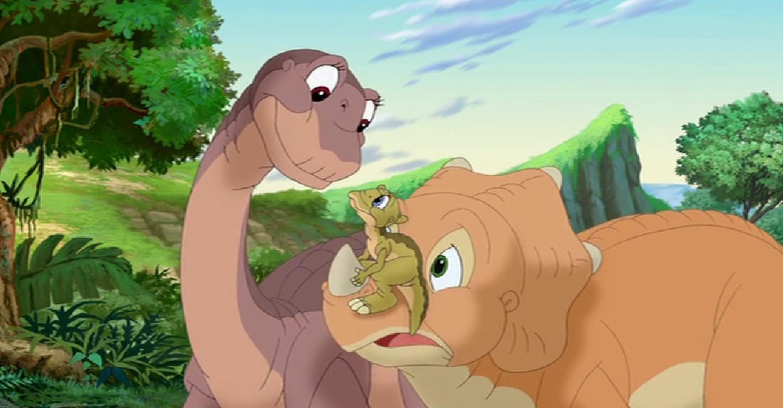 Картинки динозавров из мультика земля до начала времен