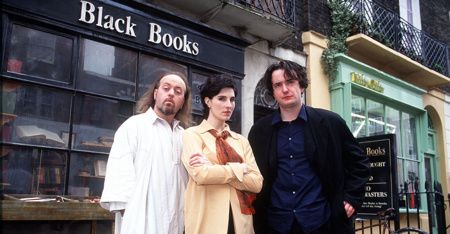 Black Books backdrop 1