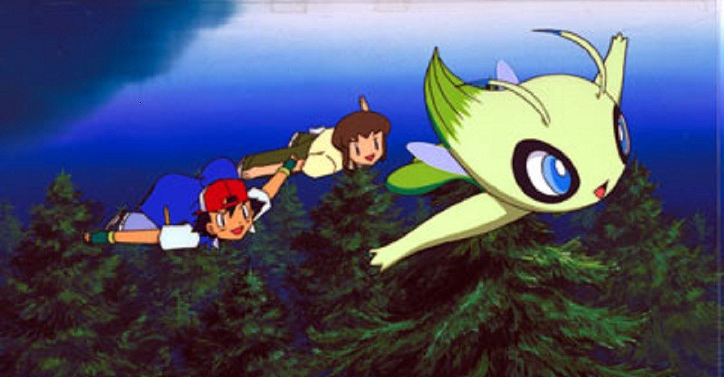 Pokemon 4ever Celebi Voice Of The Forest Stream