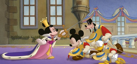Mickey Donald Goofy The Three Musketeers Streaming