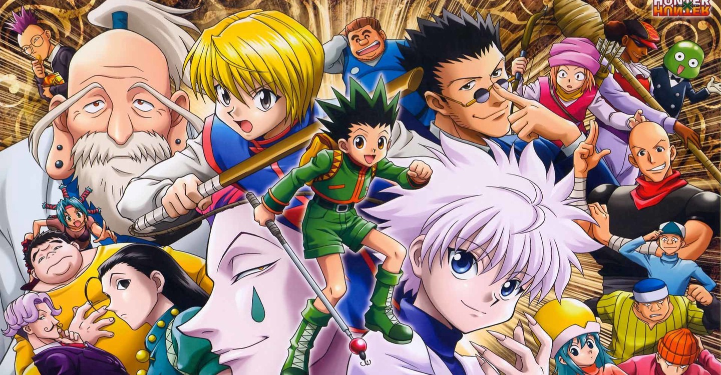 Hunter x Hunter backdrop 1