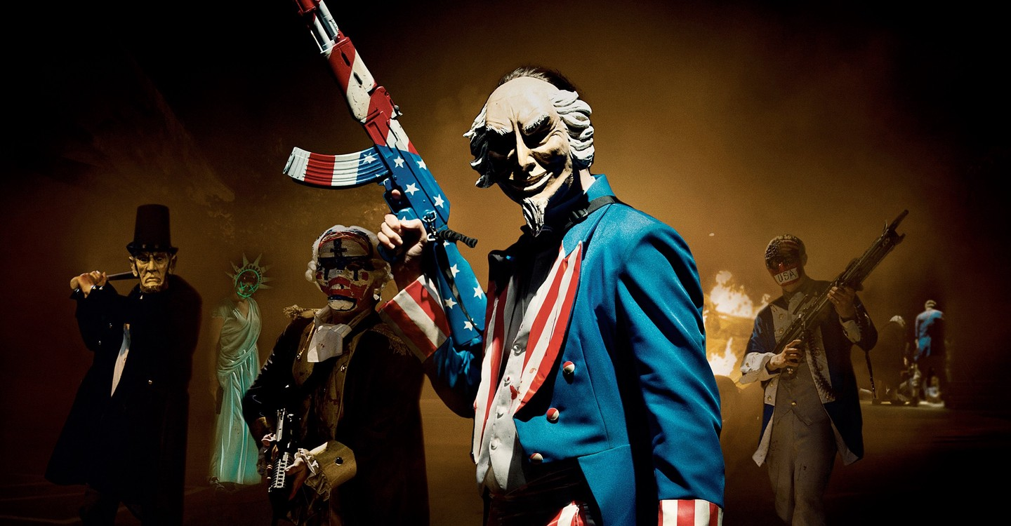 The Purge: Election Year backdrop 1