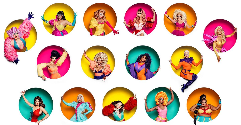RuPaul's Drag Race backdrop 1