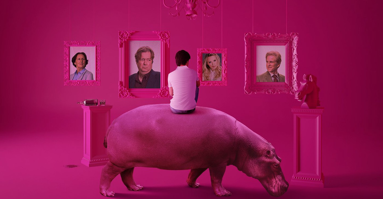 The Hippopotamus backdrop 1