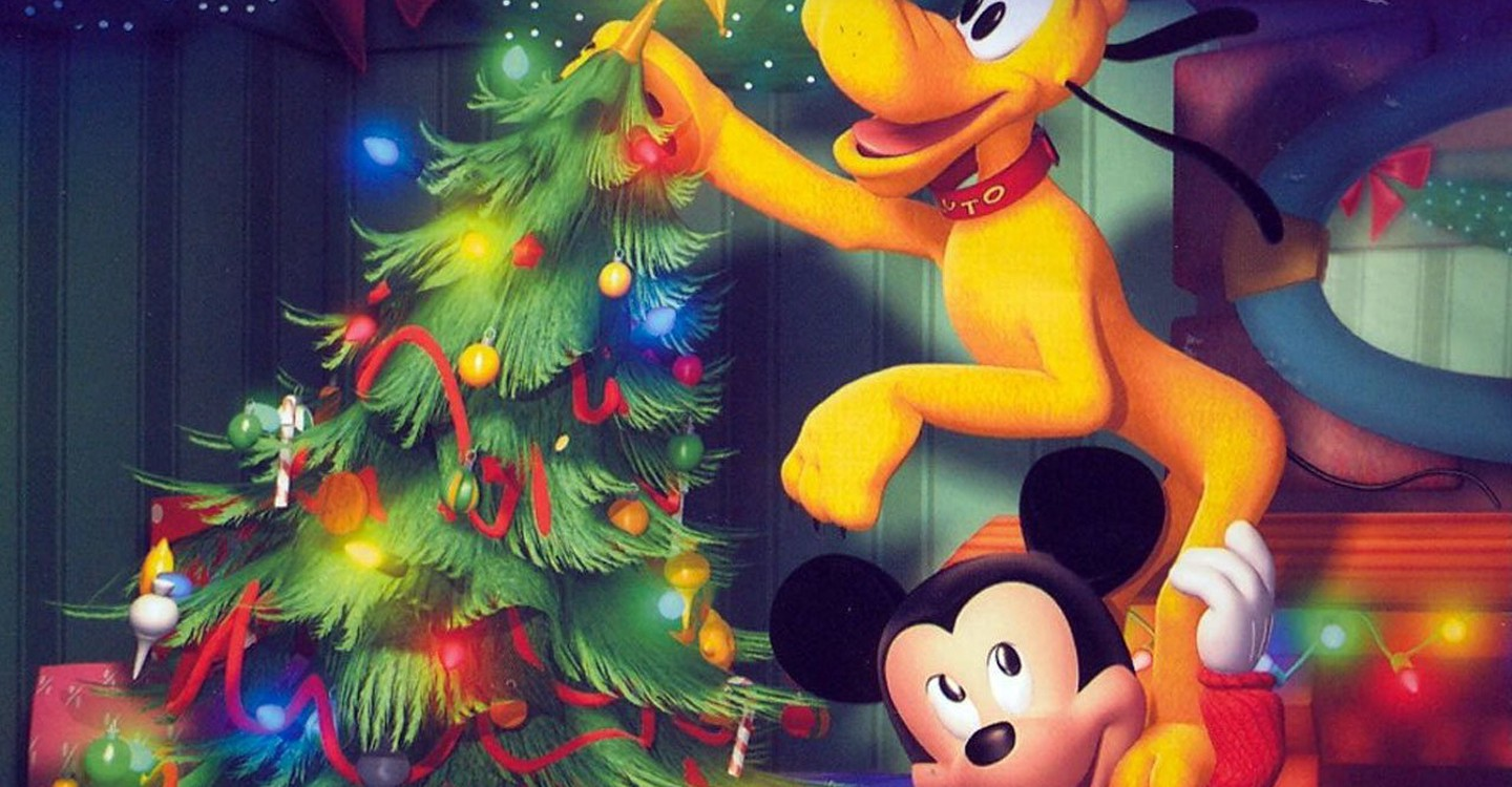 mickeys twice upon a christmas backdrop 1 - Mickey Twice Upon A Christmas