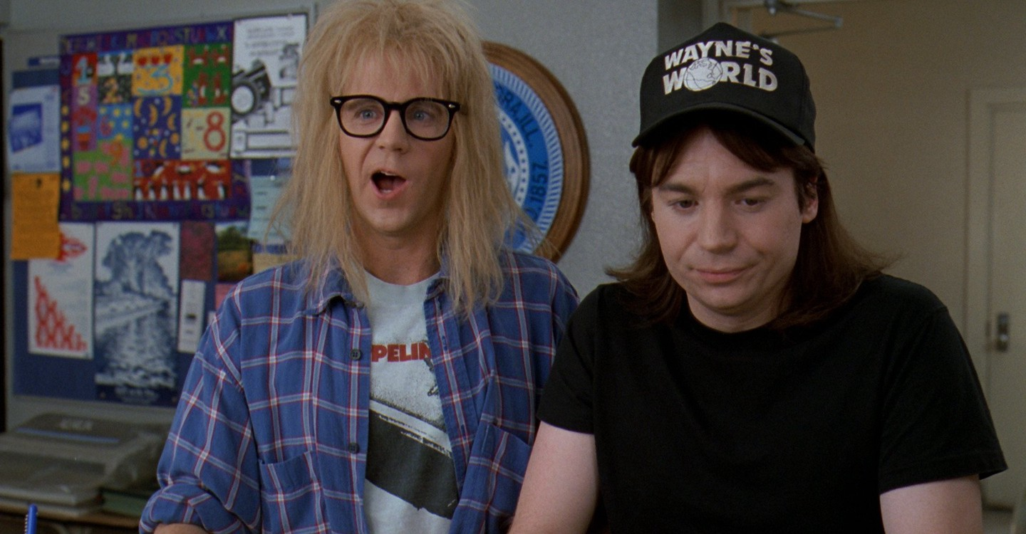 Wayne's World 2 backdrop 1