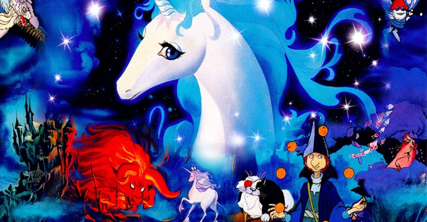 Image result for the last unicorn movie