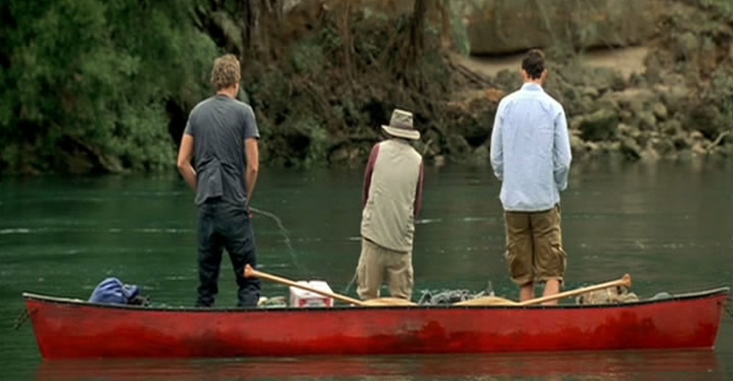Without a Paddle backdrop 1