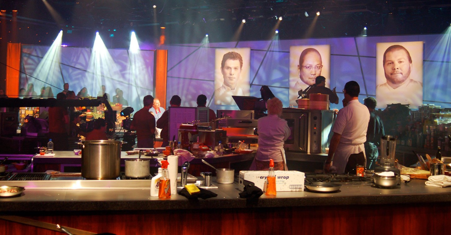 Iron Chef America backdrop 1