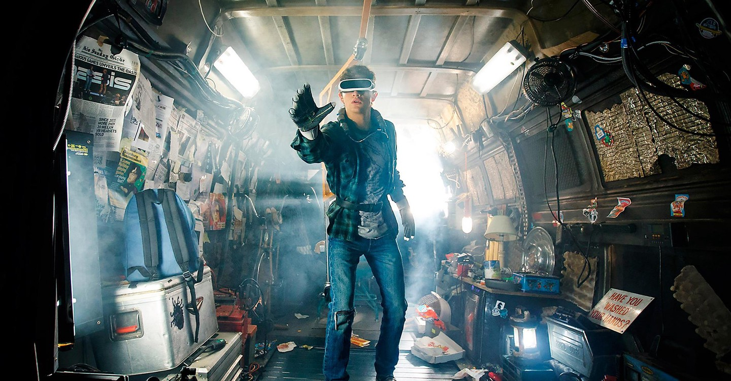 Ready Player One backdrop 1