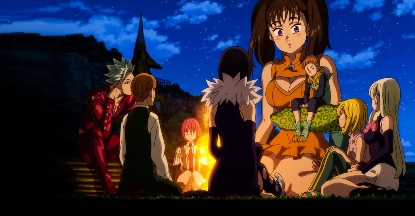 The Seven Deadly Sins: Prisoners of the Sky backdrop 1