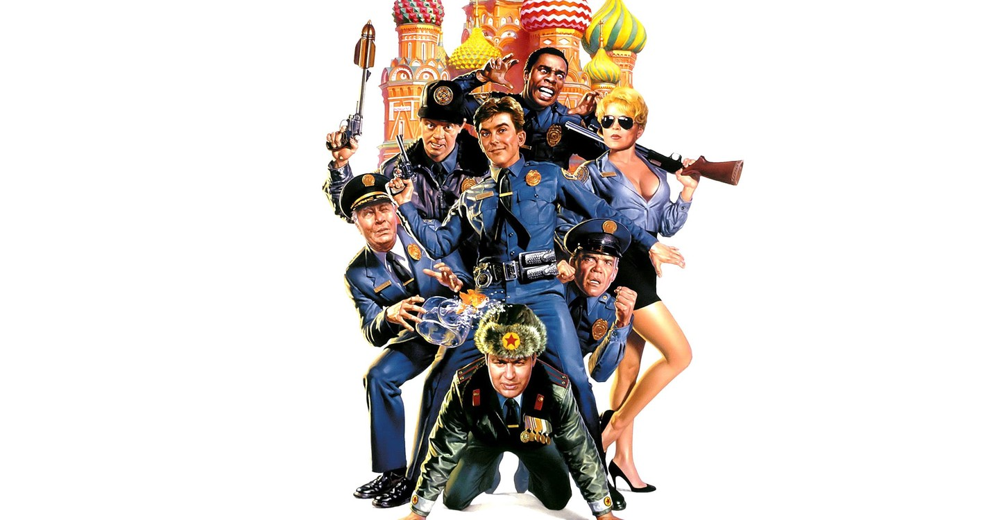 Police Academy: Mission to Moscow backdrop 1
