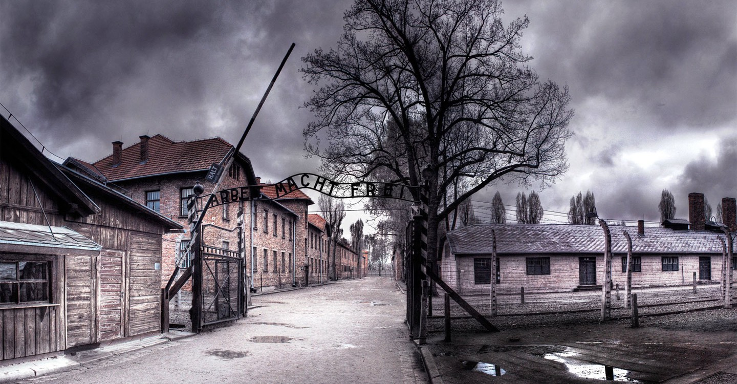 Auschwitz: The Nazis and the Final Solution backdrop 1