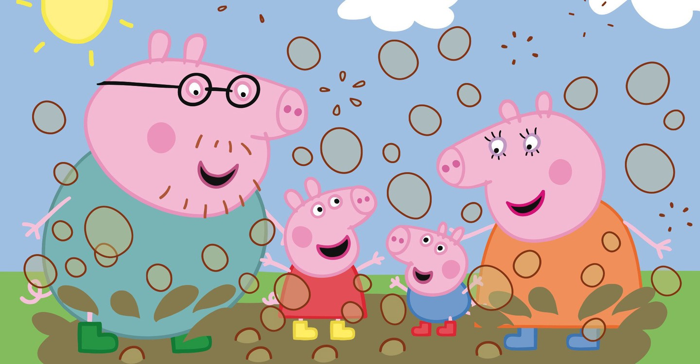 Peppa Pig backdrop 1