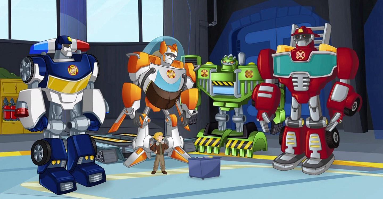 Transformers: Rescue Bots backdrop 1