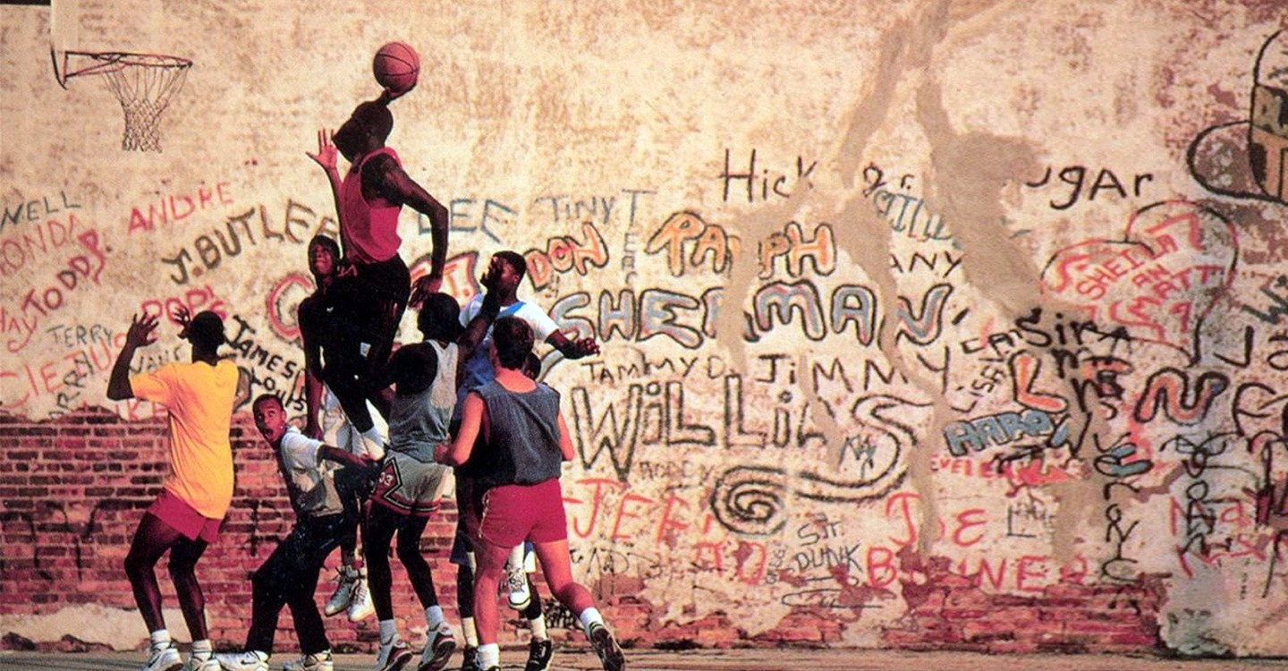Michael Jordan's Playground backdrop 1