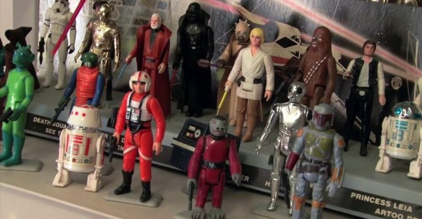 Plastic Galaxy: The Story of Star Wars Toys backdrop 1