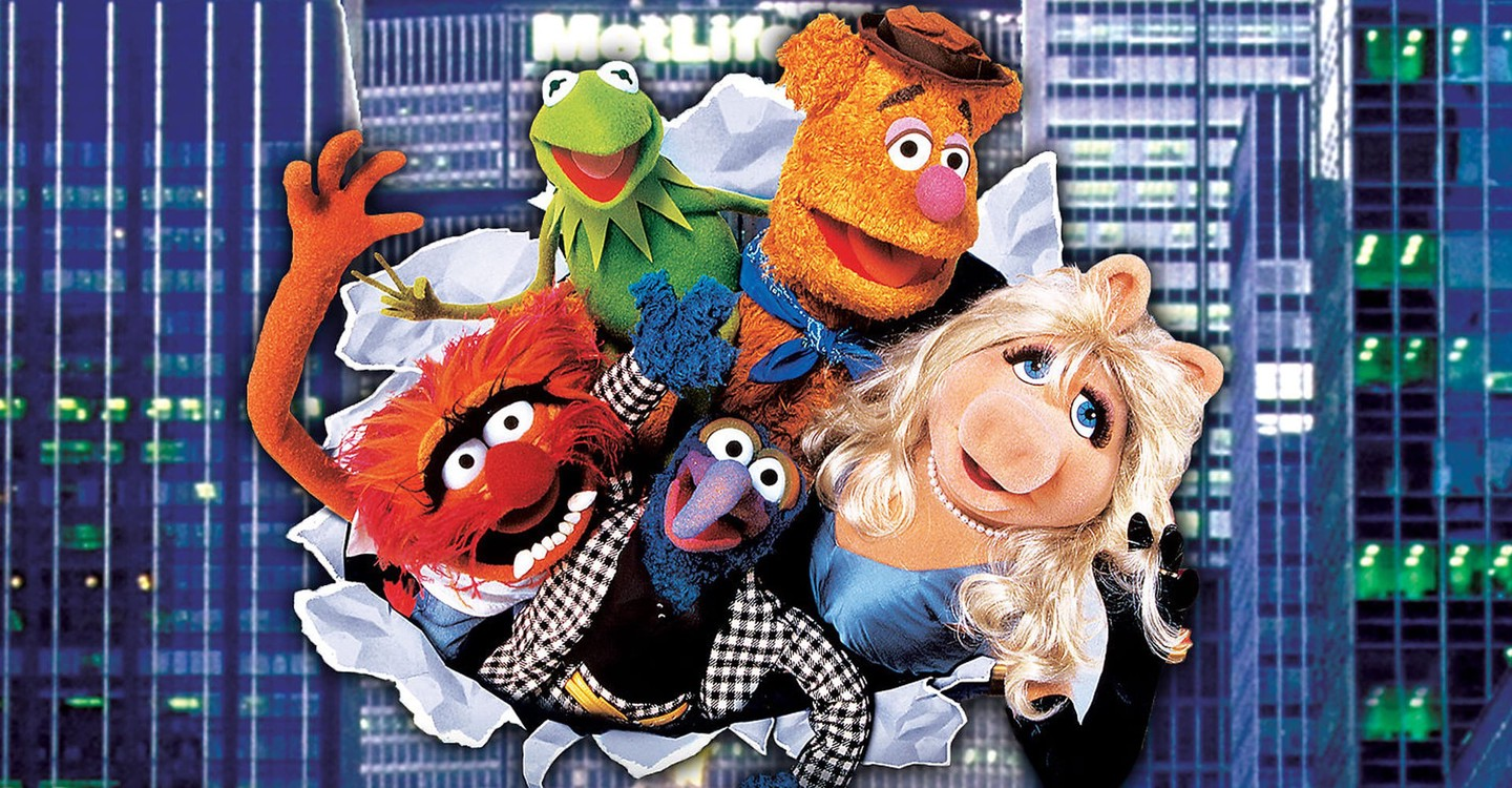 The Muppets Take Manhattan backdrop 1