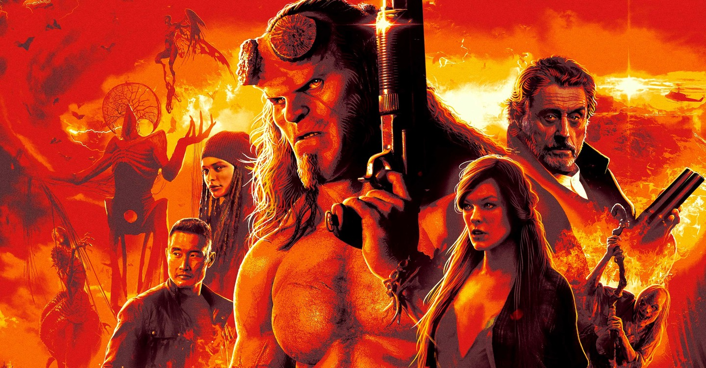 Hellboy - Call of Darkness backdrop 1