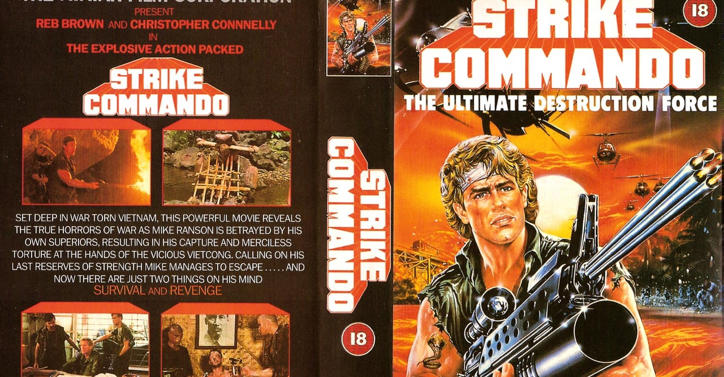 War Movie : Strike Commando (1987)