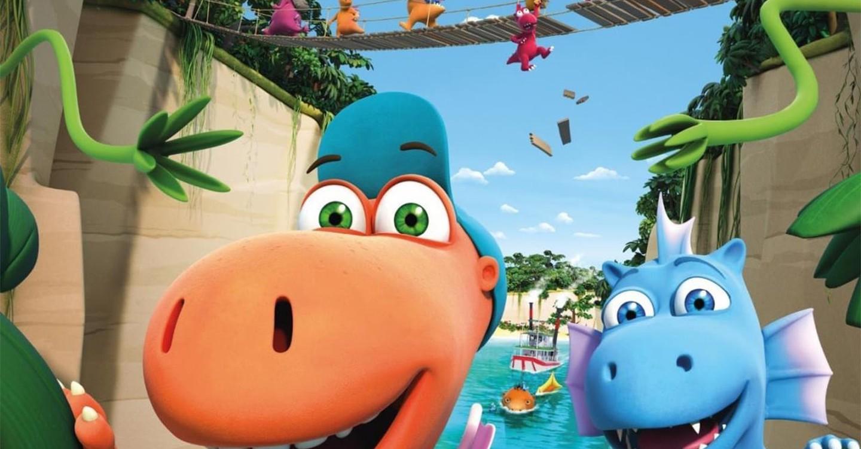 Der kleine Drache Kokosnuss 2 - Auf in den Dschungel! backdrop 1