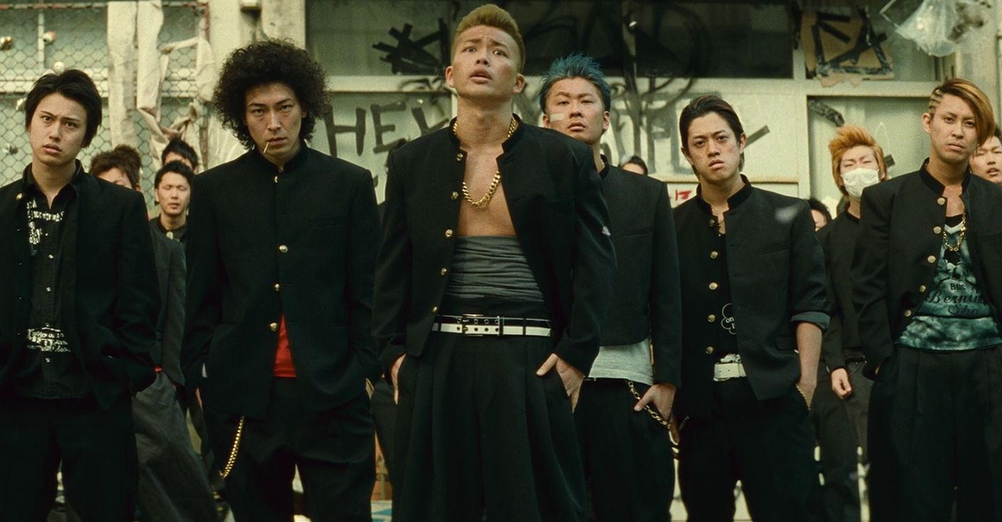 Crows Explode - movie: watch streaming online