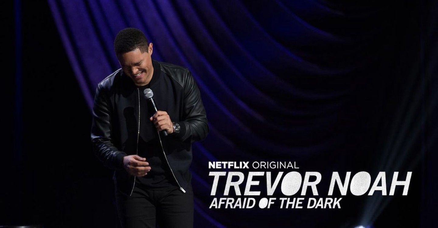 Trevor Noah: Afraid of the Dark backdrop 1