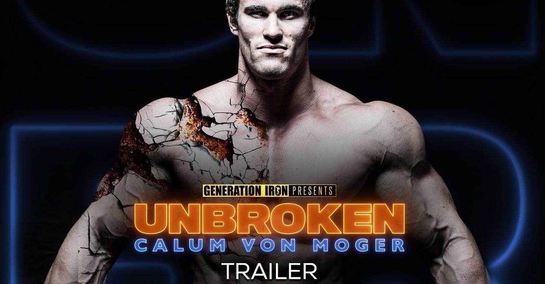Calum Von Moger: Unbroken backdrop 1