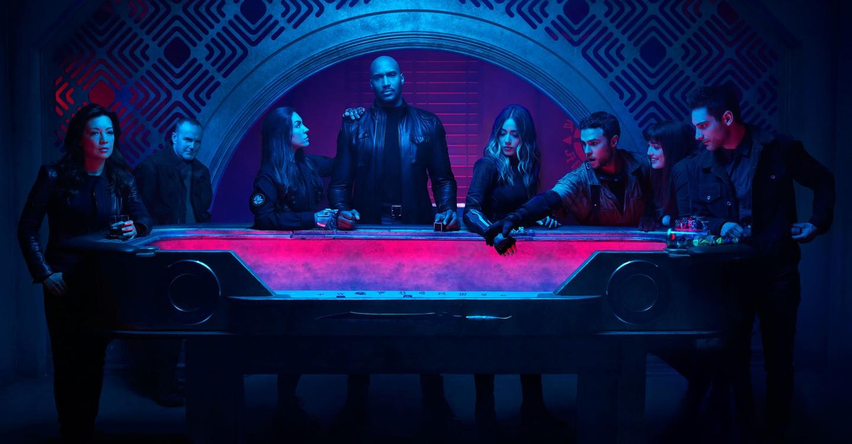 S.H.I.E.L.D. Agentit backdrop 1