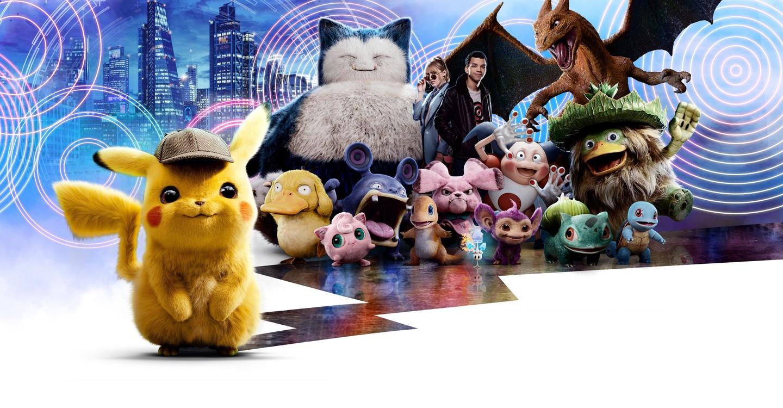 Pokémon Detective Pikachu backdrop 1