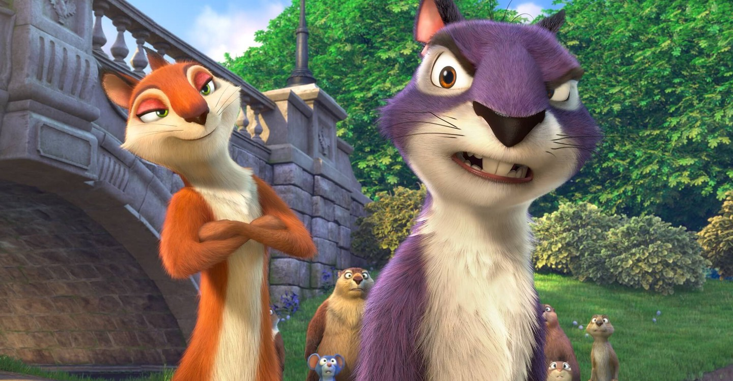 The Nut Job 2: Nutty by Nature backdrop 1