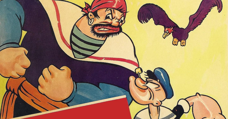 Popeye the Sailor Meets Sindbad the Sailor