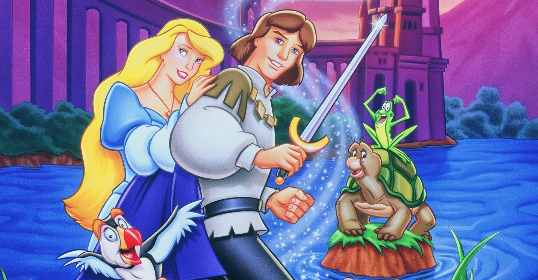 Принцесса Лебедь: Тайна заколдованного королевства