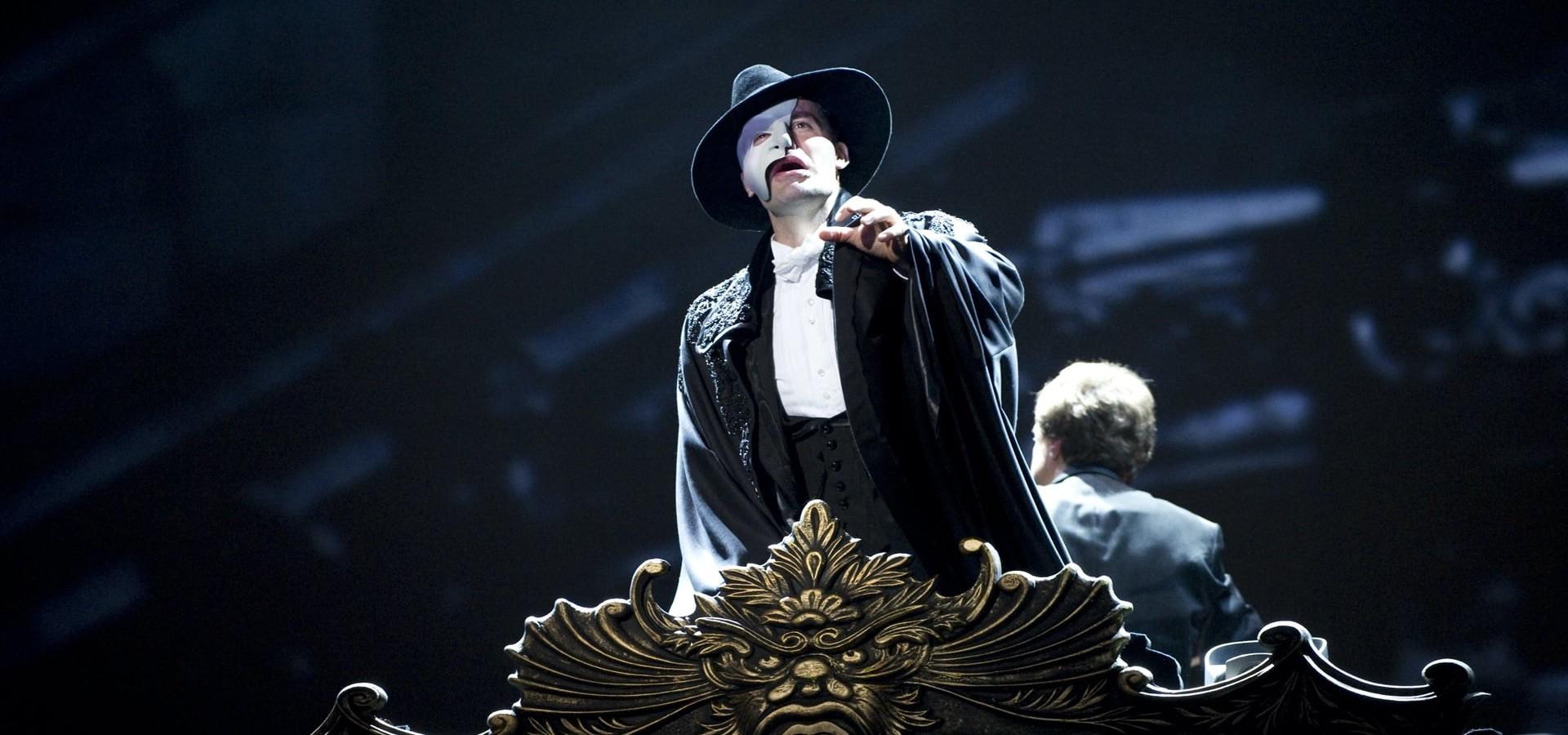 El fantasma de la ópera en el Royal Albert Hall