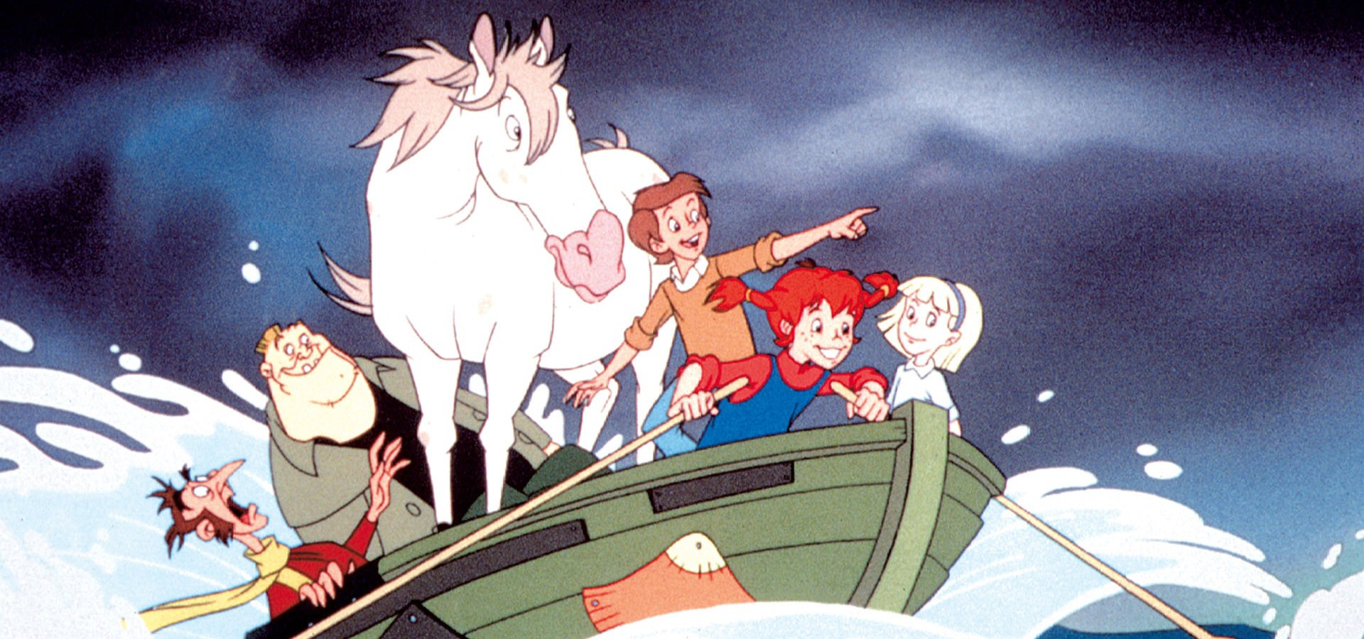 Pippi's Adventures on the South Seas