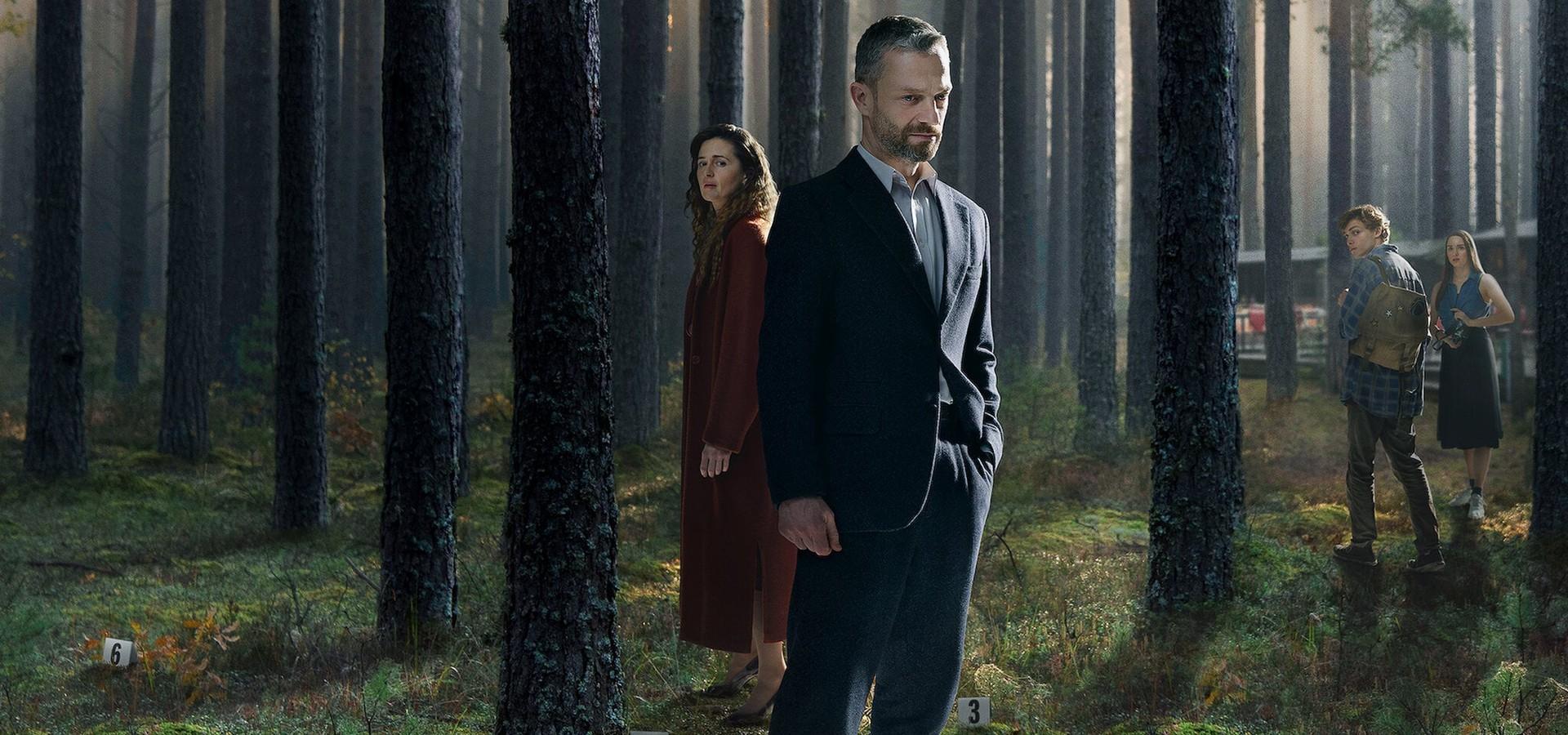 Das Grab im Wald