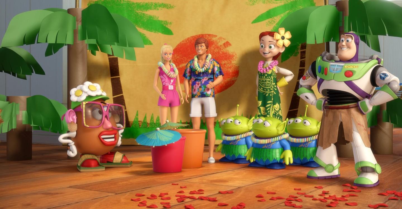 Toy Story - Férias Havaianas
