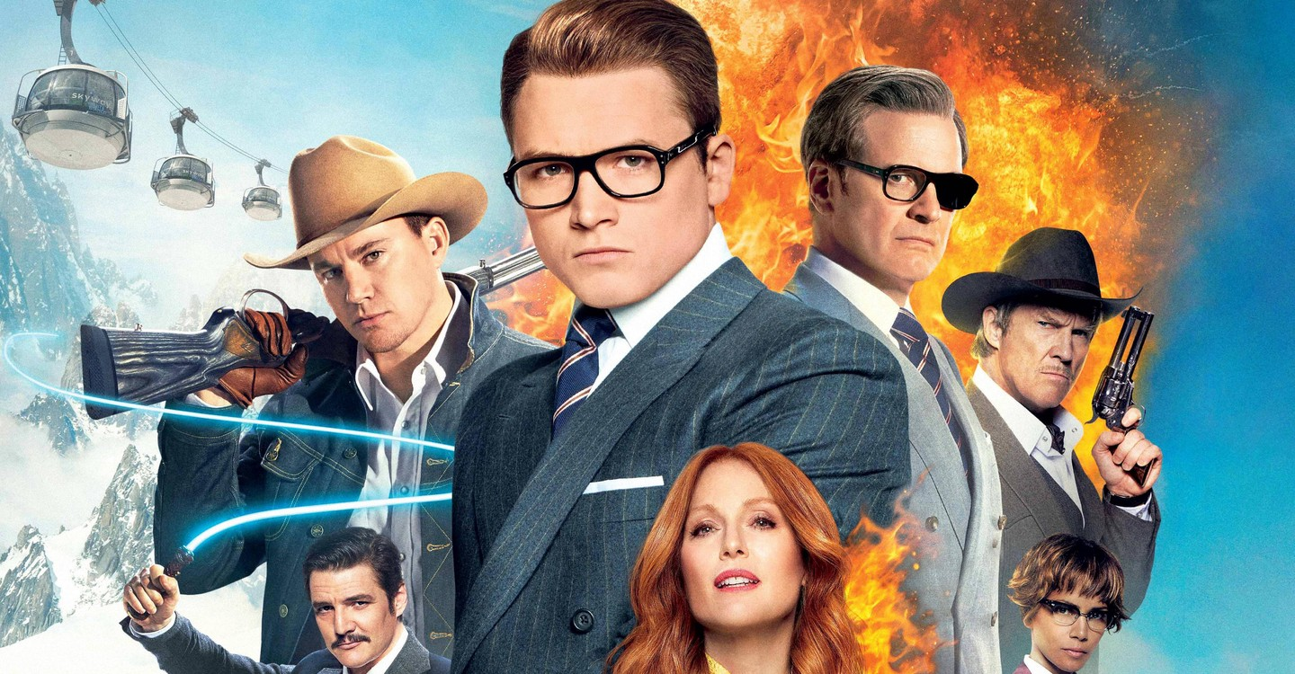 Kingsman: The Golden Circle backdrop 1