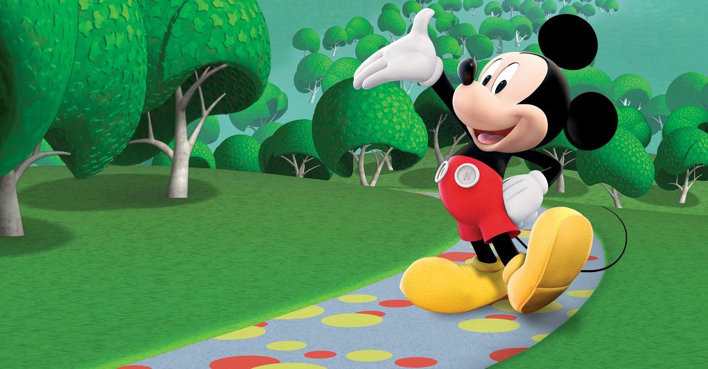 Mickey egér játszótere
