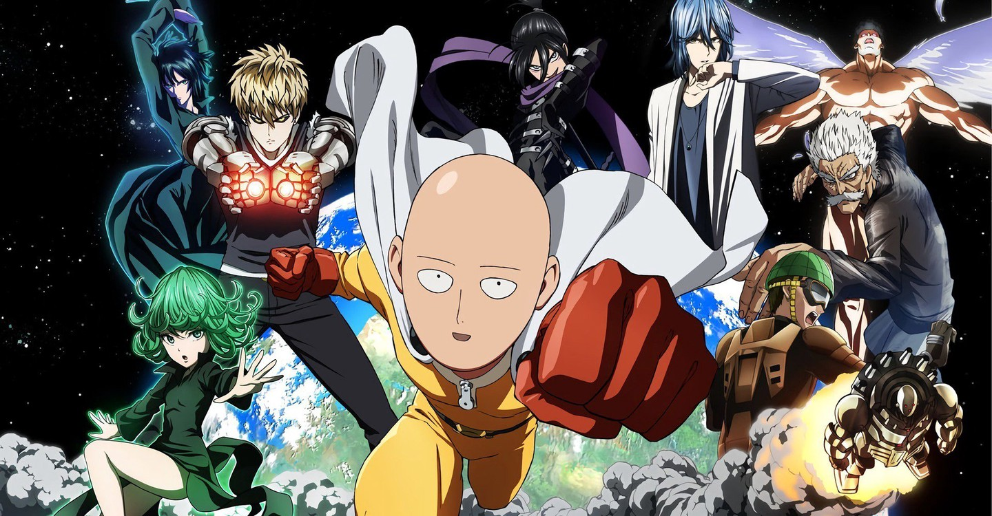 One Punch Man backdrop 1