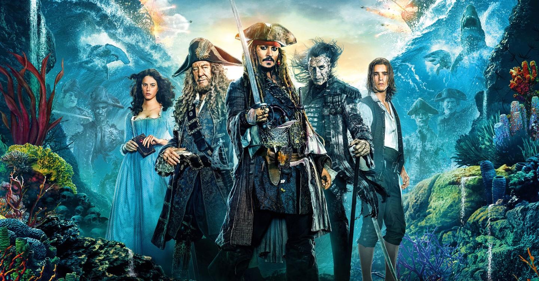 Piratas del Caribe: La venganza de Salazar backdrop 1