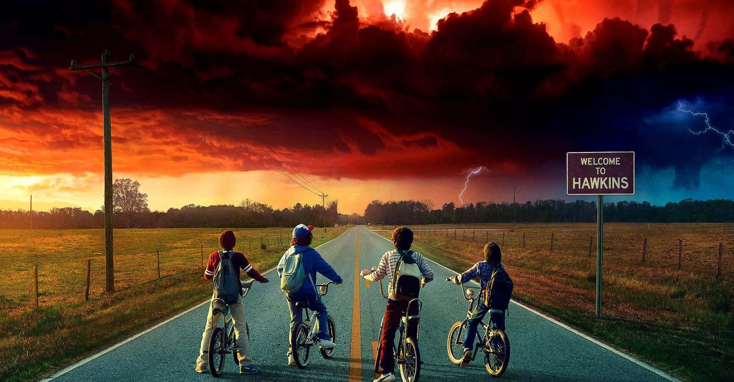 Stranger Things backdrop 1