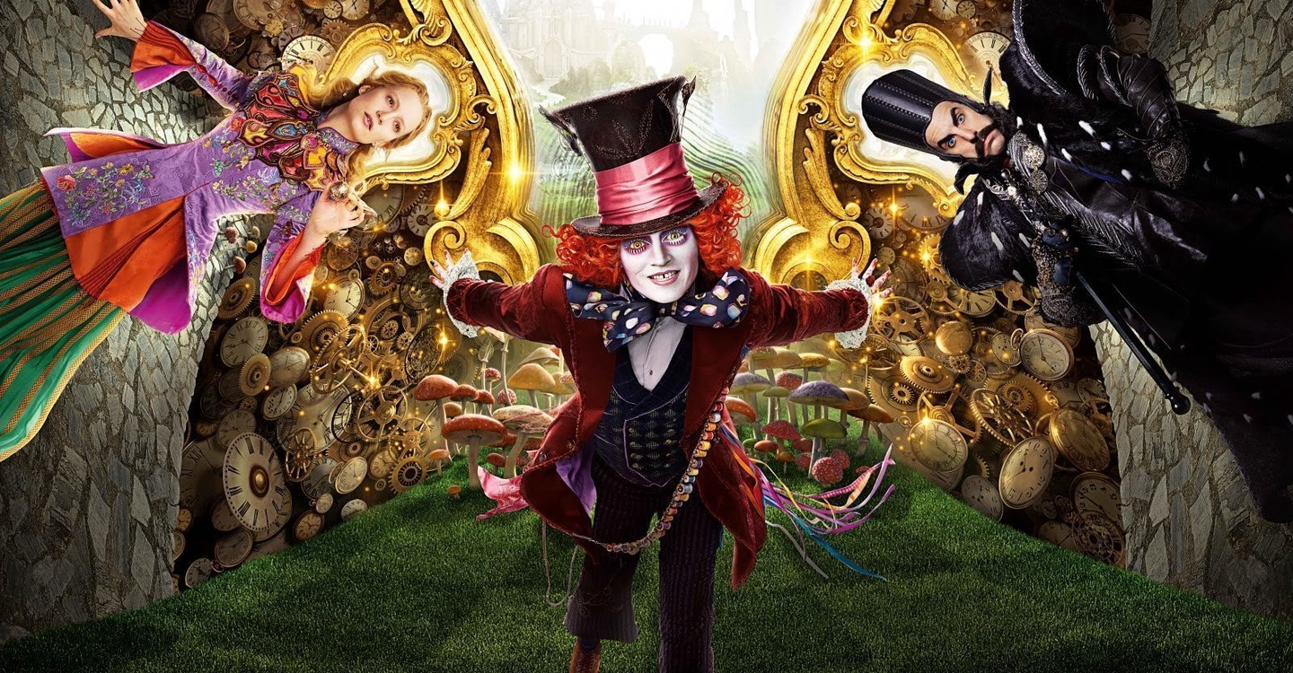 Alice Through the Looking Glass backdrop 1