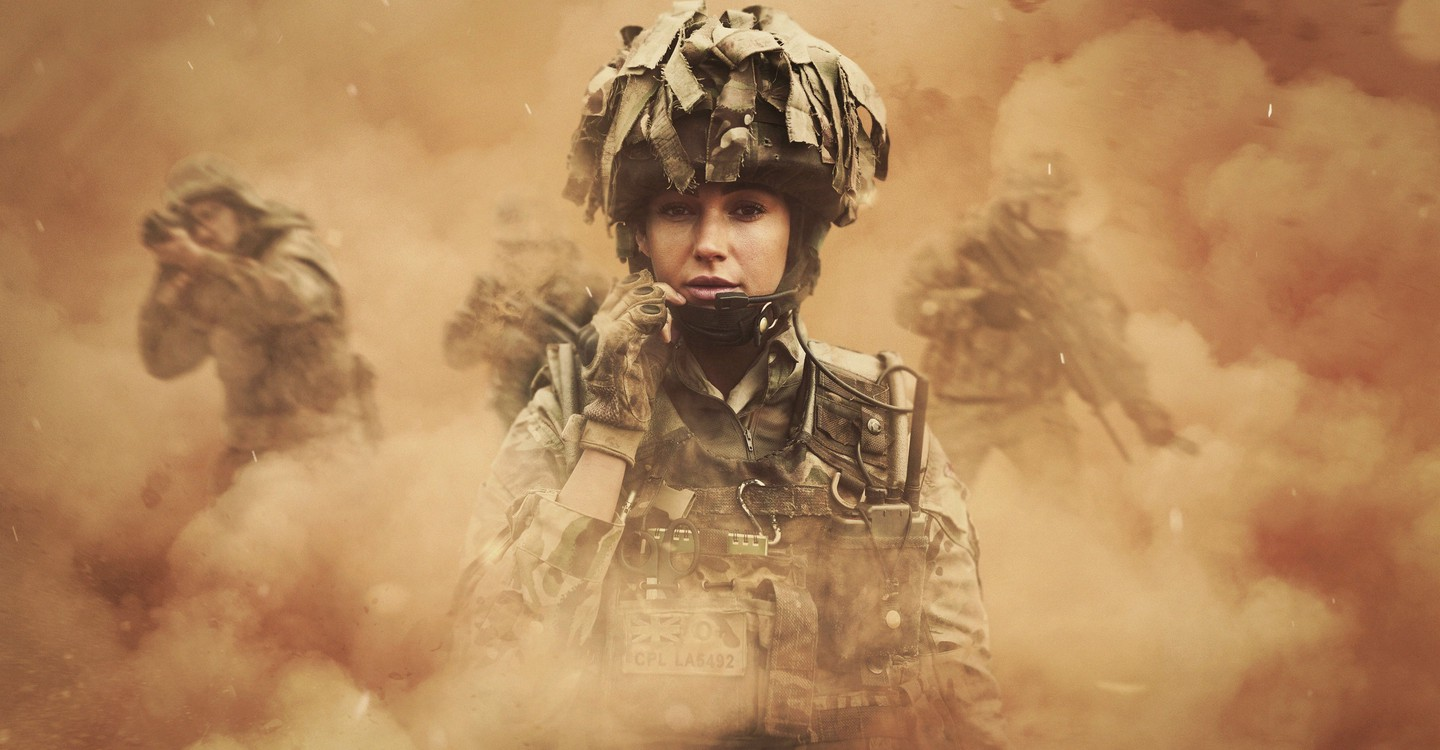 Our Girl backdrop 1