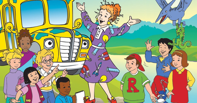 The Magic School Bus backdrop 1